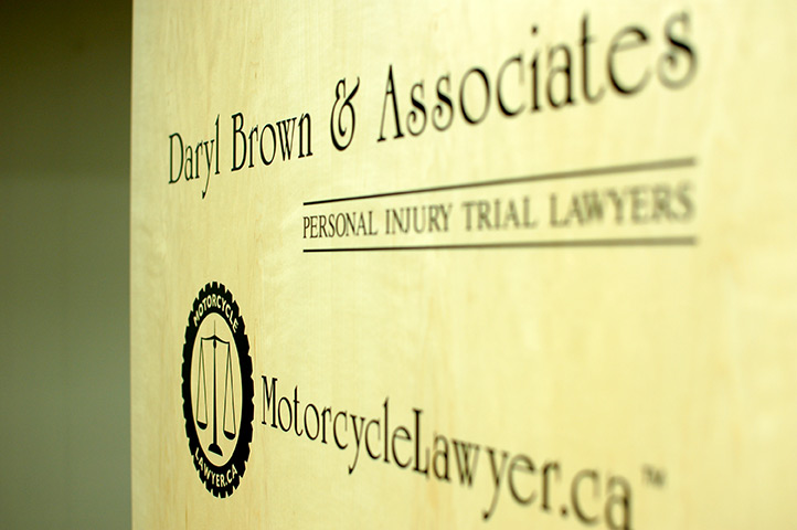 Vancouver Motorcycle Lawyers Sign
