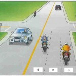 motorcycle lane positions